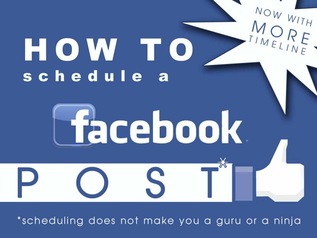 How To Schedule A Facebook Page Post